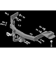 Фаркоп Motodor для KIA Sorento 2020-  арт. 91008-A