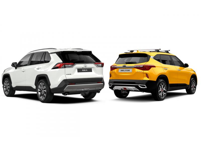 Фаркопы на новинки Kia Seltos и Toyota RAV4
