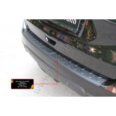 Накладка на задний бампер для Nissan X-Trail 2015- арт. NN-152802