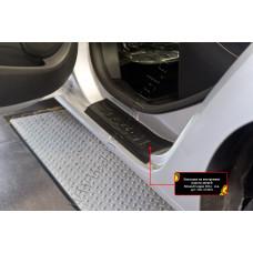 Накладки на внутренние пороги дверей для Renault Logan 2014- арт. NRL-029002