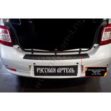 Накладка на задний бампер для Renault Logan 2014- арт. NRL-029302