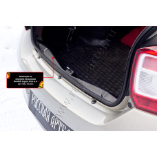 Накладка на порожек багажника для Renault Logan 2014- арт. NRL-032202
