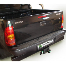 Фаркоп Лидер Плюс для TOYOTA HILUX (4WD) (N2) с задним силовым бампером 2008- F арт. T114-F