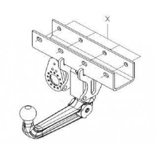 Фаркоп Westfalia для Jeep Wrangler 04/07- A50 арт. 342105600001