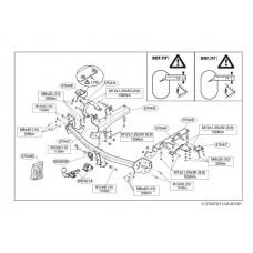 Фаркоп Thule для Toyota RAV4 2012- арт. 570400