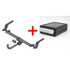 Набор фаркоп с блоком смарт-коннект для RENAULT DUSTER арт. 9041.01_smart